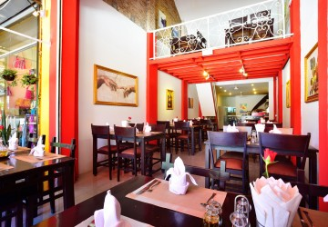 Restaurant Business For Sale - Old Market / Pub Street, Siem Reap thumbnail