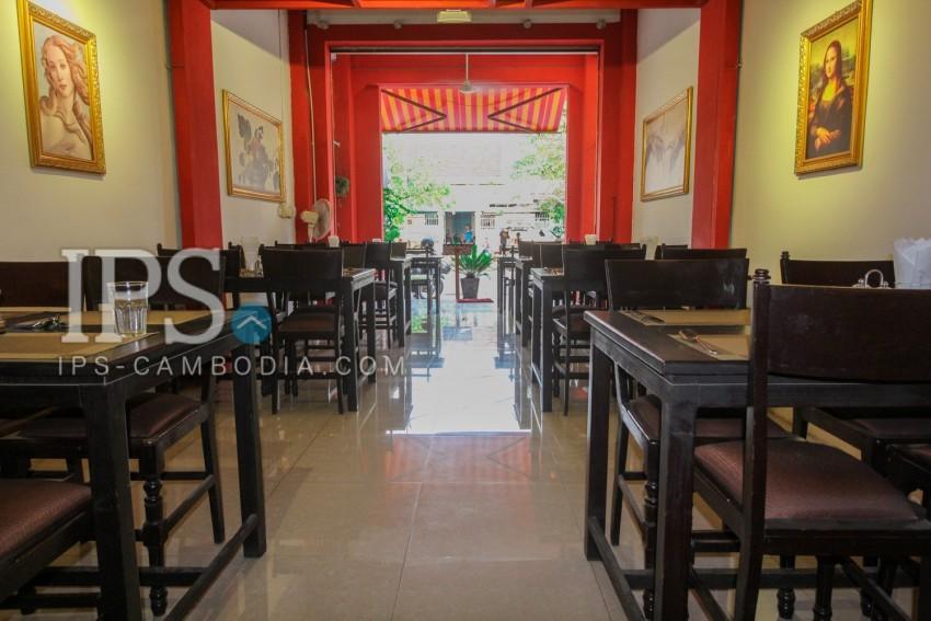 Restaurant Business For Sale - Old Market / Pub Street, Siem Reap