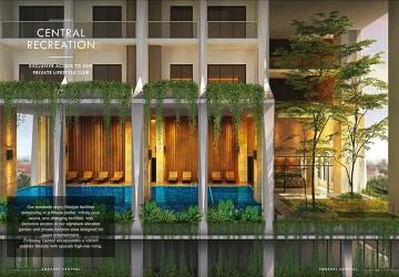 1 Bedroom Condo Unit For Sale - BKK1, Phnom Penh