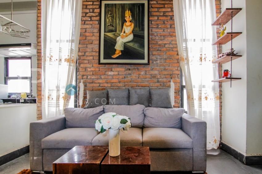 Studio Apartment Residence for Rent - Tonle Bassac