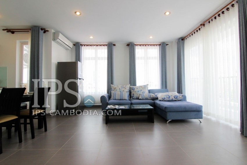 2 Bedroom Serviced Apartment For Rent - Toul Tumpong , Phnom Penh