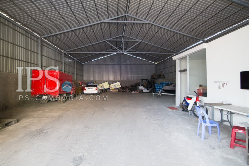 Warehouse For Rent - Khan Mean Chey, Phnom Penh