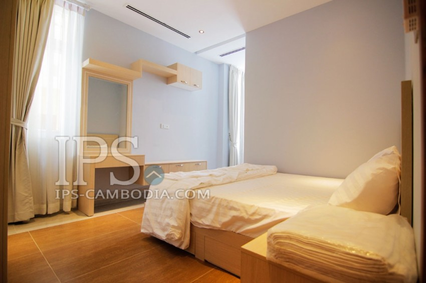 One Bedroom Serviced Apartment in Phnom Penh For Rent - Toul Svay Prey