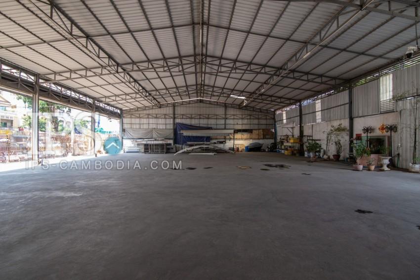 Warehouse For Rent - Toul Svay Prey 1, Phnom Penh