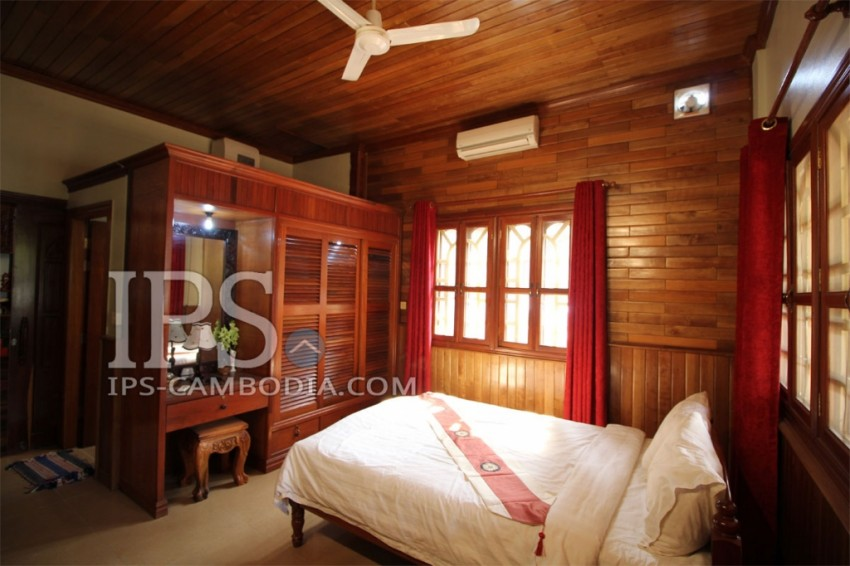 Luxiourious Three Bedroom Villa for Rent in Siem Reap