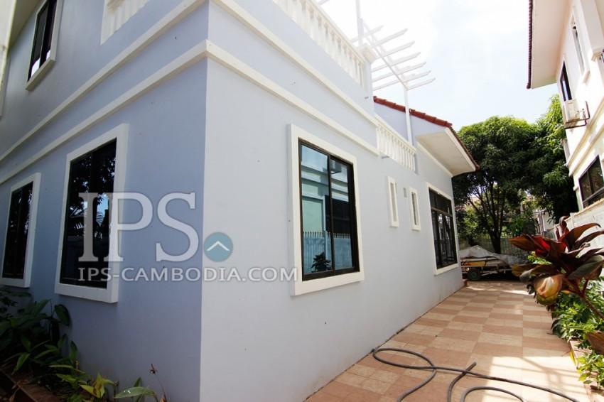 Chroy Changvar Villa for Rent in Phnom Penh - Four Bedrooms