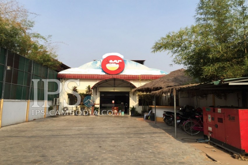 Perfectly Located Restaurant for Rent in Siem Reap