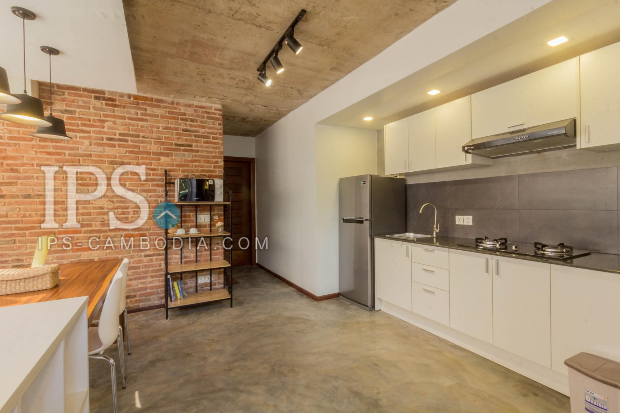 Western Style 1 Bedroom Apartment For Rent - Svay Dangkum, Siem Reap