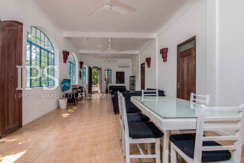 2 Bedroom and 1 Study Room Apartment For Rent - Phsar Kandal 1, Phnom Penh