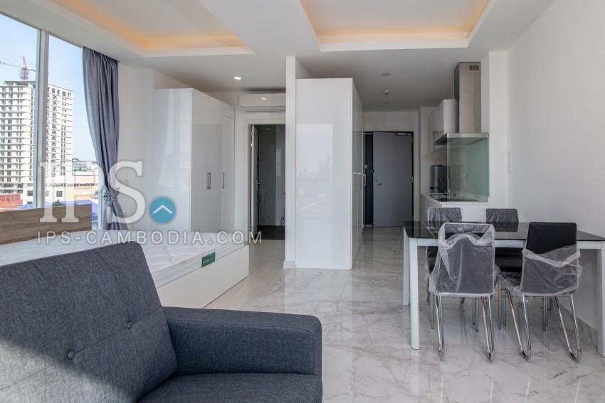 Studio Apartment For Rent - Tonle Bassac, Phnom Penh