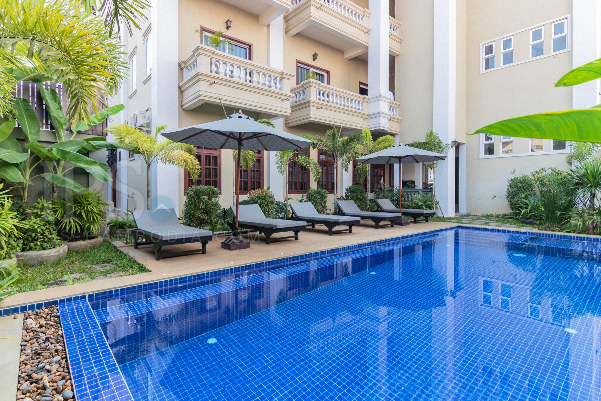 2 Bedroom Apartment For Rent - Svay Dangkum, Siem Reap