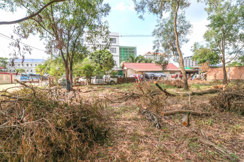 600 sq.m Land For Rent - Koch Asean, Sihanoukville