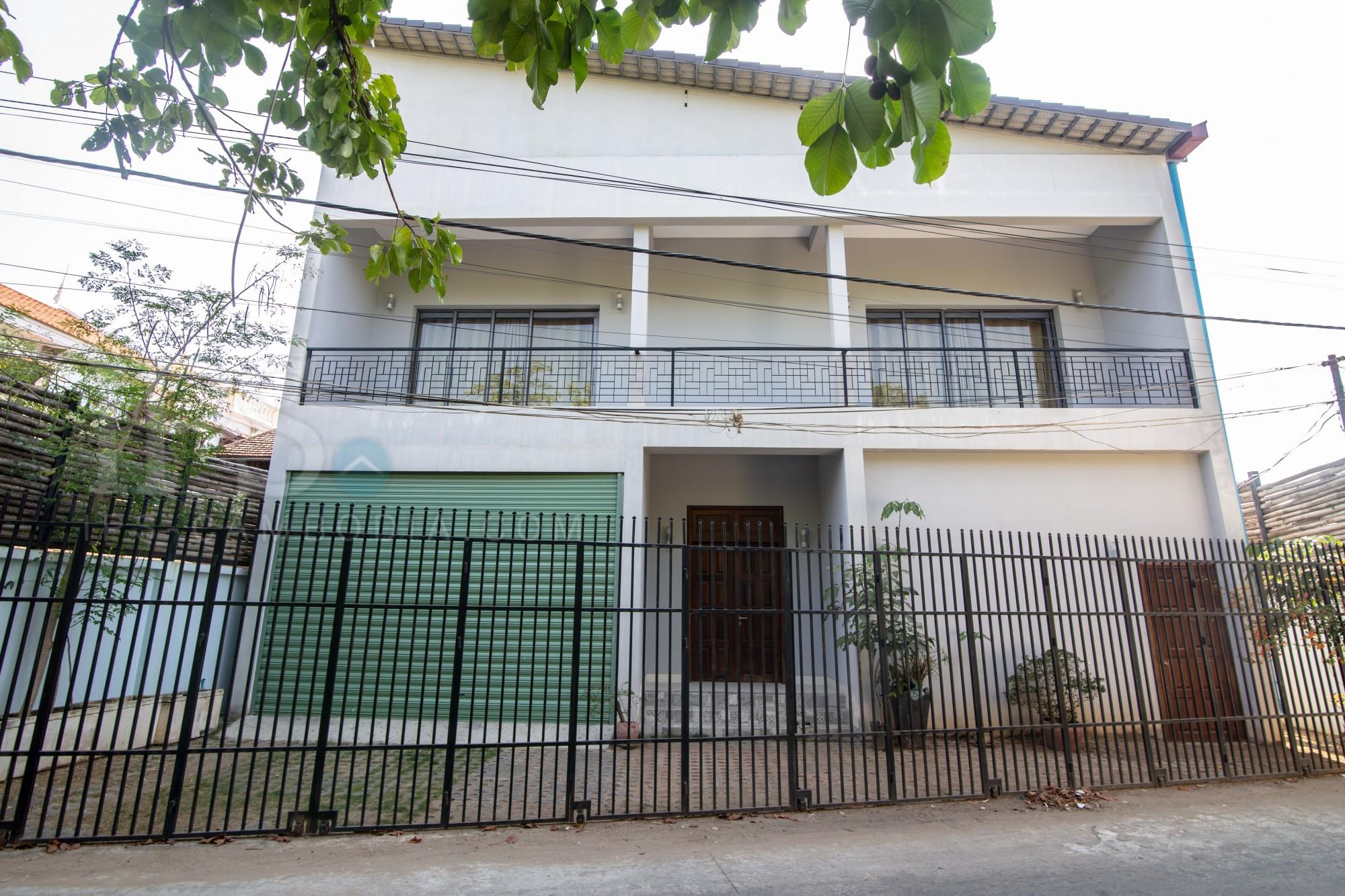 4 Bedroom Villa  For Rent - Preaek Aeng, Phnom Penh