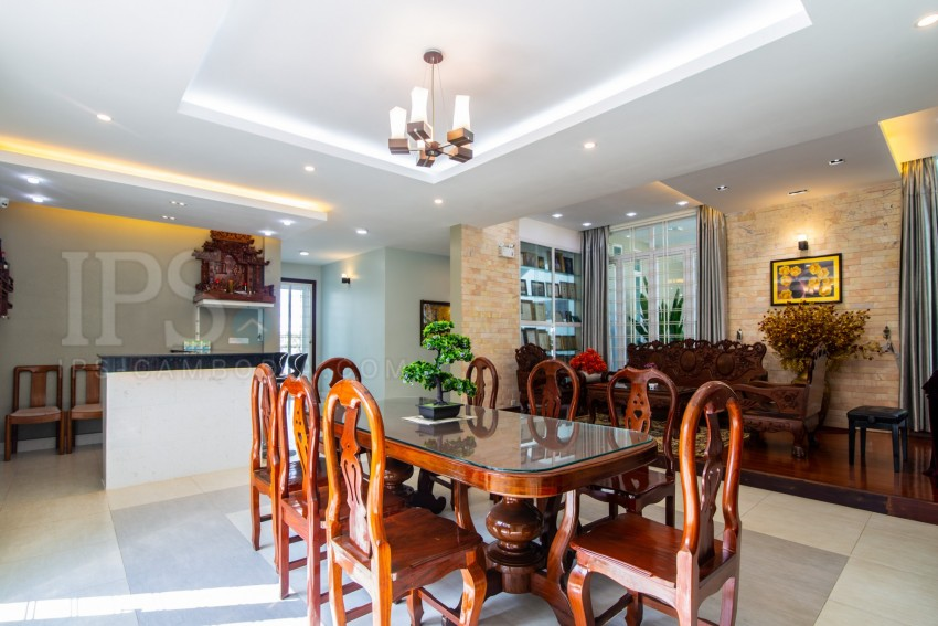 6 Bedroom Villa  For Rent - Preaek Aeng, Phnom Penh