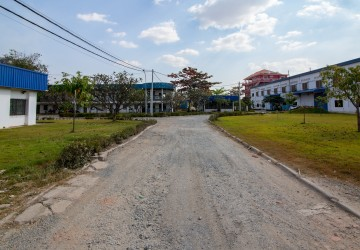 35,671 sq.m. Land with Warehouse  For Sale - Chaom Chau, Phnom Penh