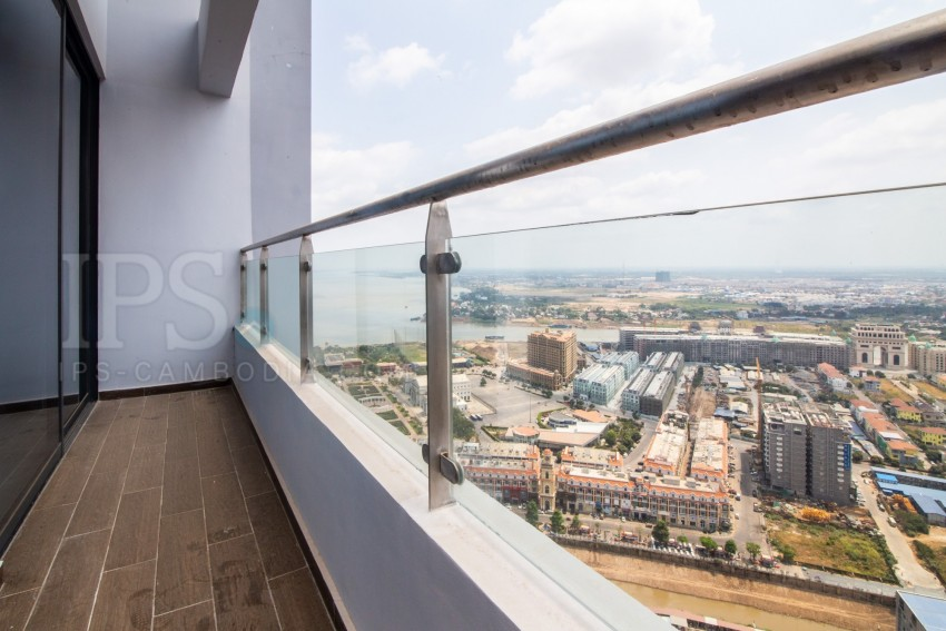 2 Bedroom Penthouse For Rent - Tonle Bassac, Phnom Penh