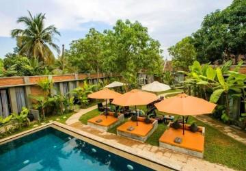 13 Room Boutique Hotel Business  For Sale - Sala Kamreuk, Siem Reap