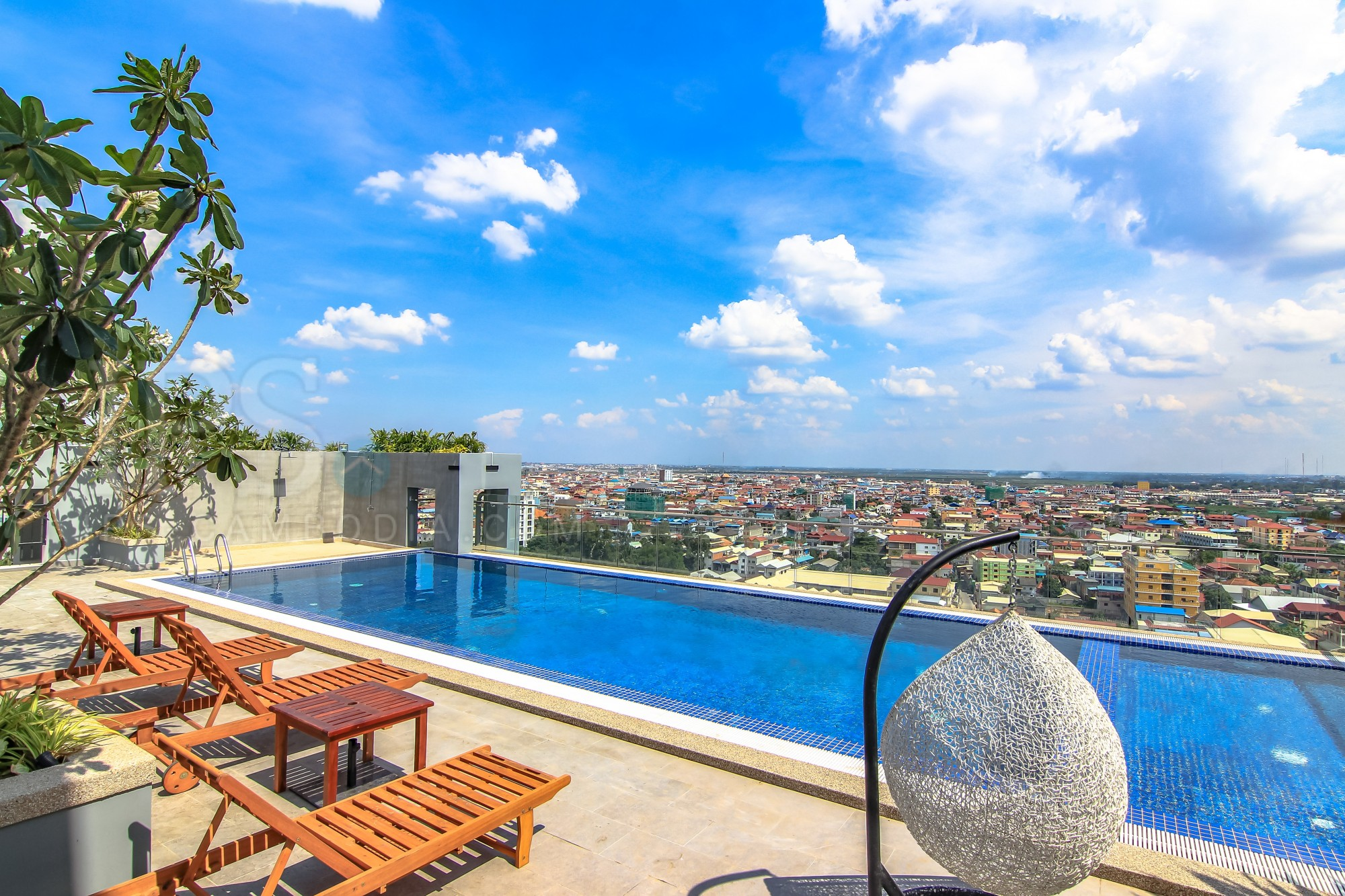 3 Bedroom Condo For Rent - Boeung Tumpun, Phnom Penh