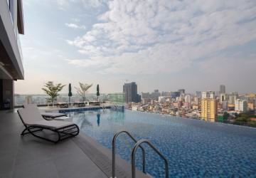 2 Bedroom Serviced Apartment For Rent - BKK2, Phnom Penh