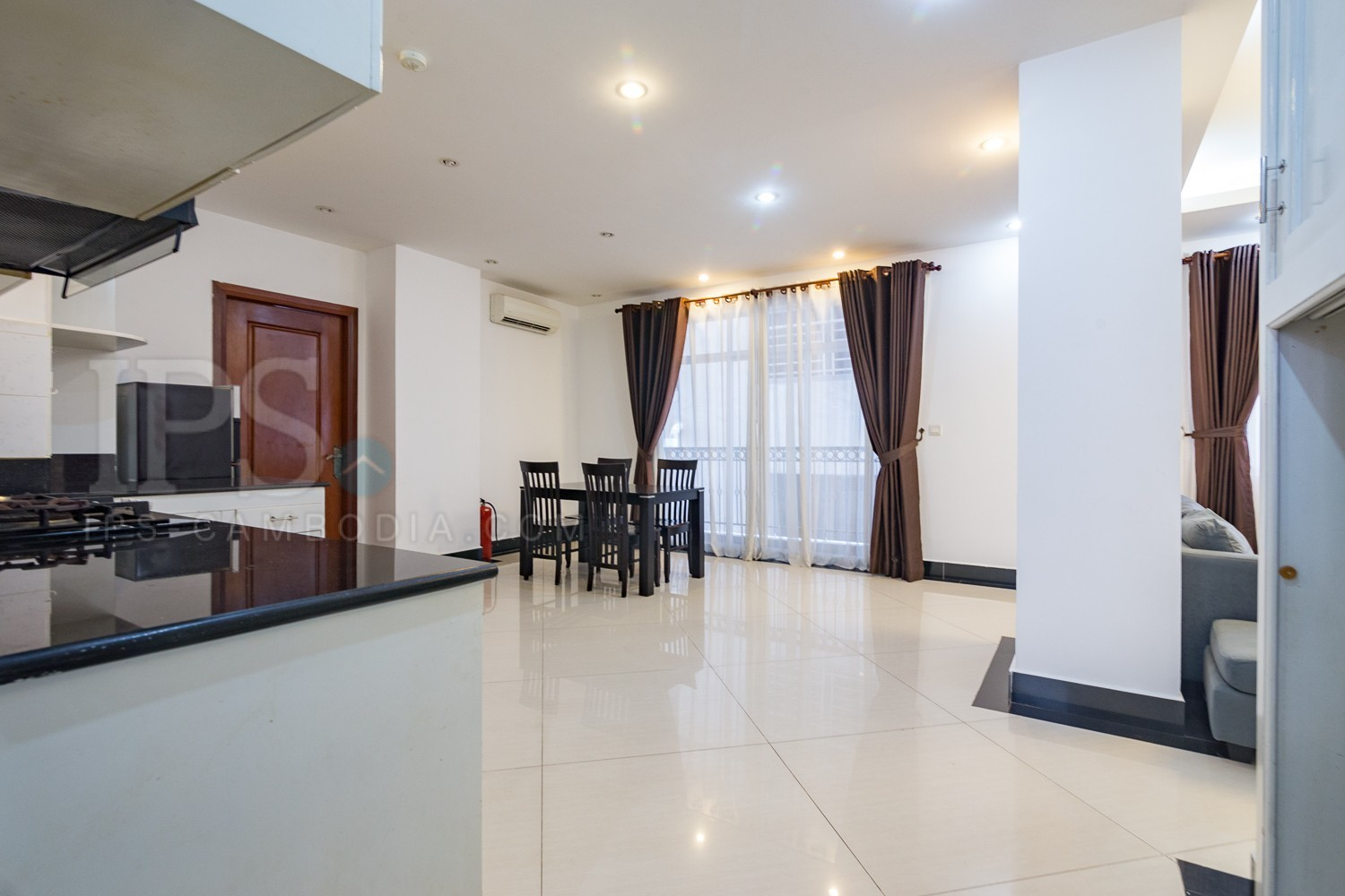 3 Bedroom Apartment for Rent in Phnom Penh - Toul Tom Poung