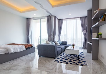 Studio Apartment For Sale - Tonle Bassac, Phnom Penh.