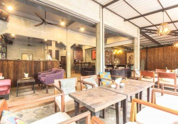 Restaurant And Coffe Business For Sale - Wat Damnak, Siem Reap