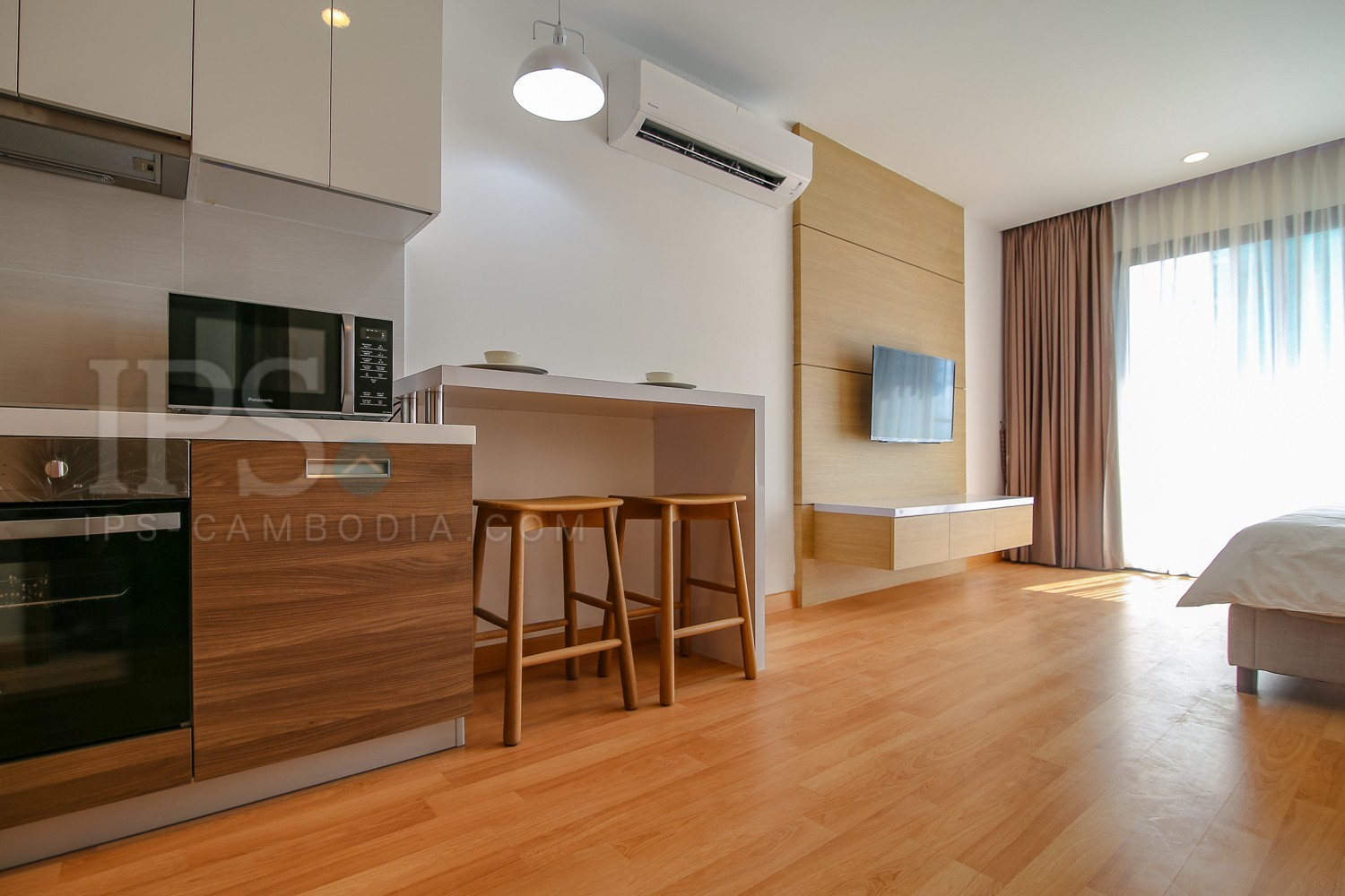 Studio Apartment For Rent - Tonle Bassac, Phnom Penh