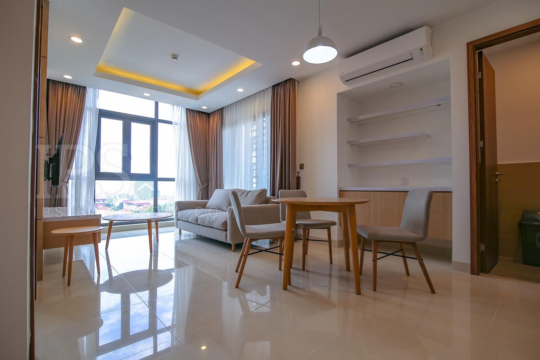 1 Bedroom Serviced Apartment For Rent - Tonle Bassac, Phnom Penh