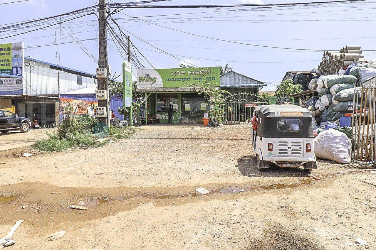 420 sq.m. Land For Rent - Klang Leu, Sihanoukville