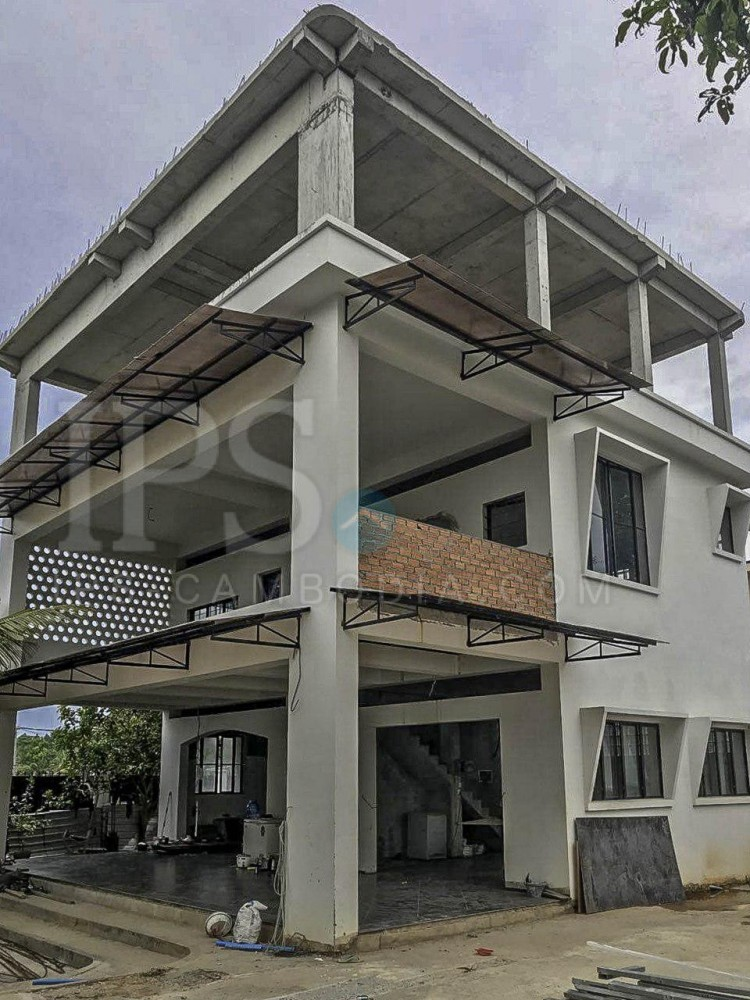 500 sq.m. House and Land For Sale - Mittapheap, Sihanoukville