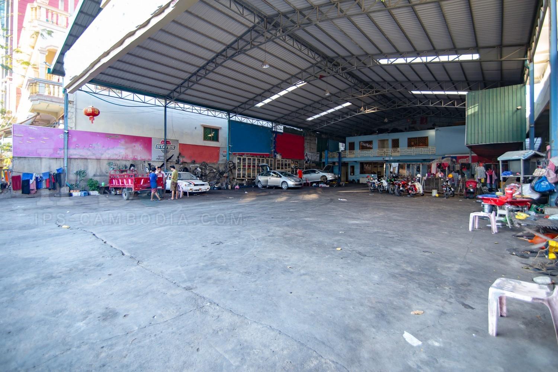 700 sq.m. Commercial Land for Rent  - Toul Tum Poung, Phnom Penh