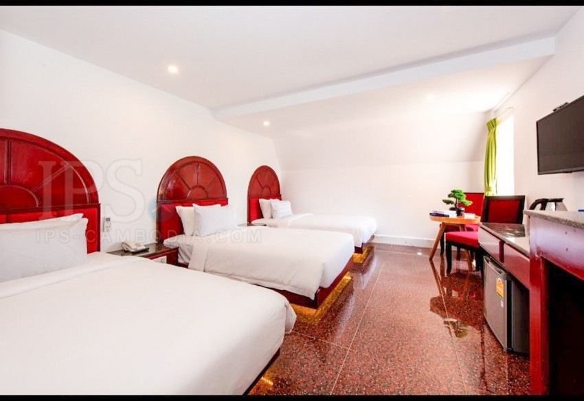 15 Room Guesthouse For Sale - Svay Dangkum, Siem Reap