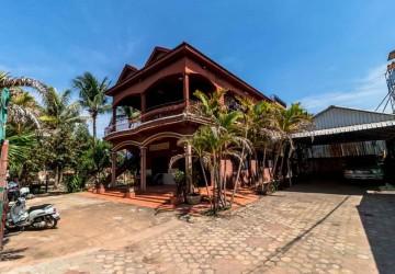 4 Bedroom House  For Rent - Wat Bo, Siem Reap