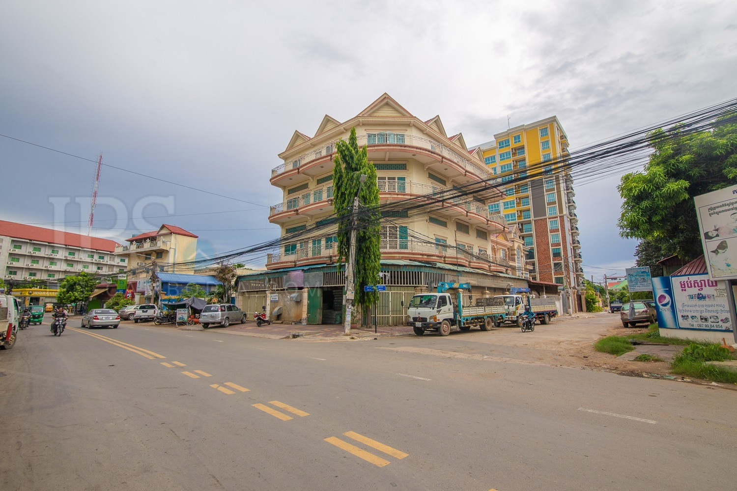 Corner Building For Sale - Toul Kork, Phnom Penh