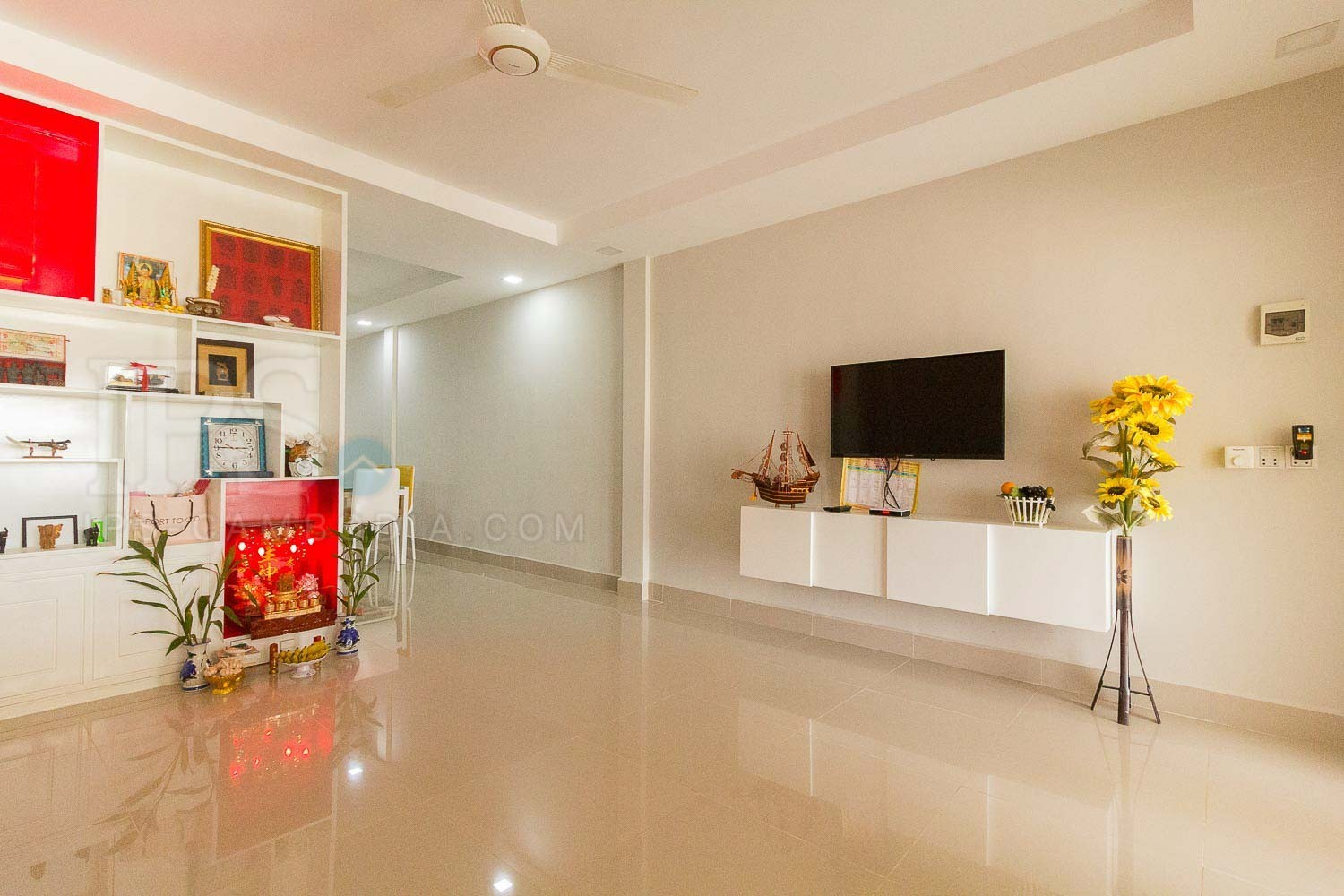 3 Bedroom Flat  For Sale - Bakong District, Siem Reap