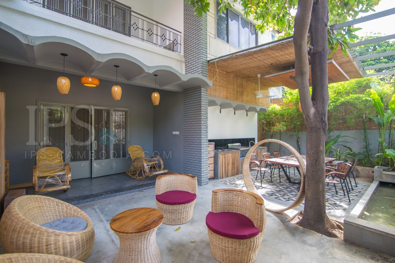 4 Bedroom Villa For Rent In - Boeung Trabek, Phnom Penh
