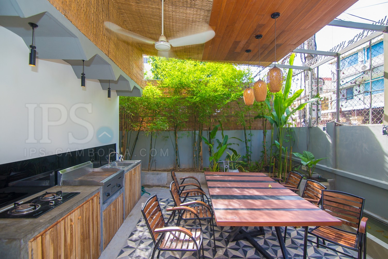 4 Bedroom Villa For Rent - Boeung Trabek, Phnom Penh