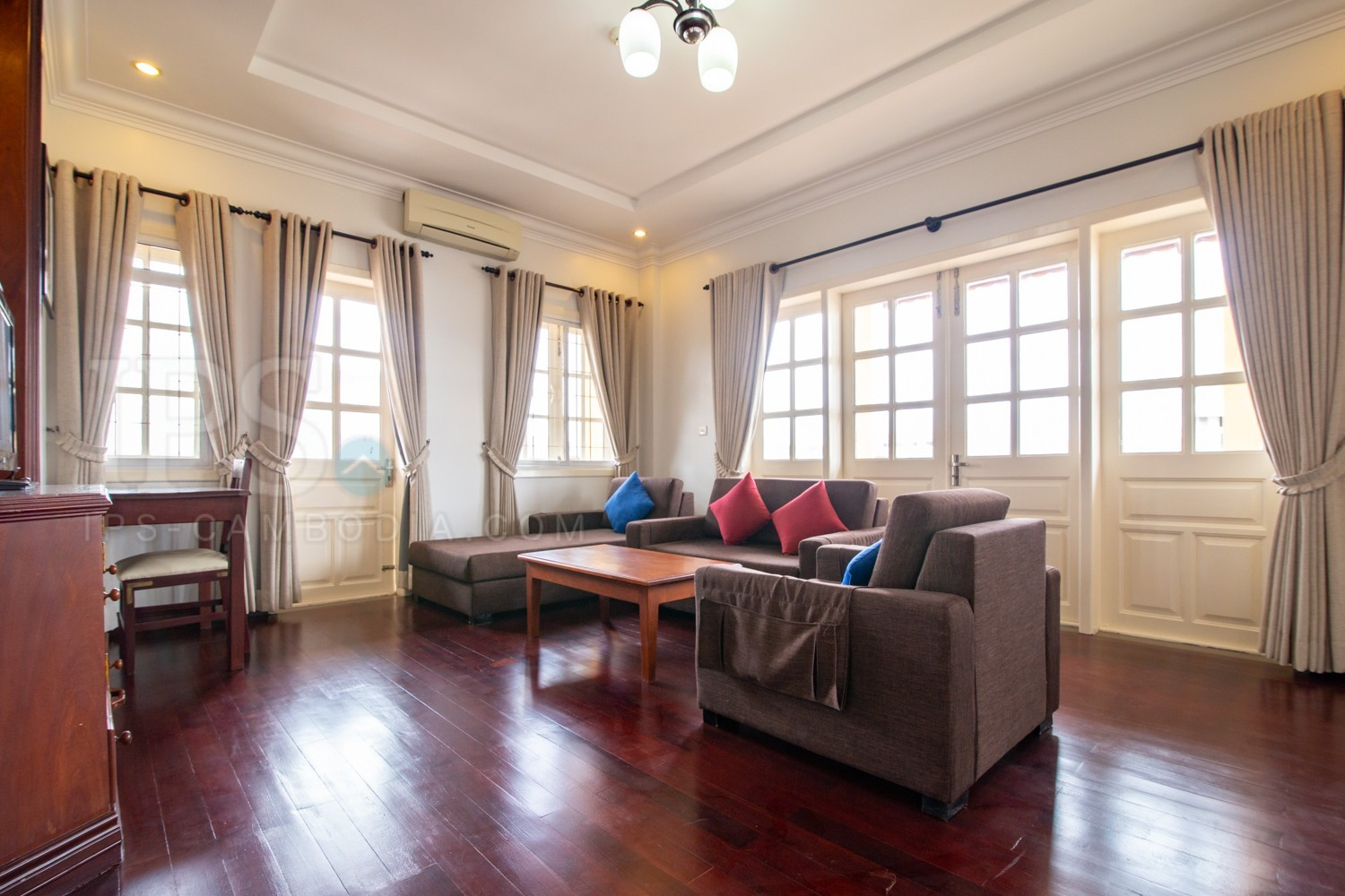 2 Bedroom Apartment For Rent - Toul Kork, Phnom Penh