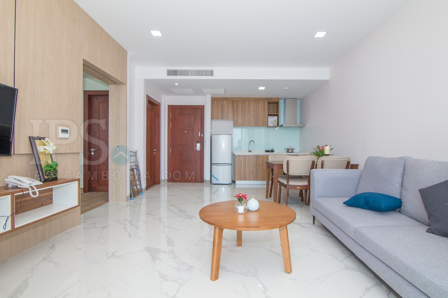 1 Bedroom Service Apartment For Rent - Toul Svay Prey II, Phnom Penh