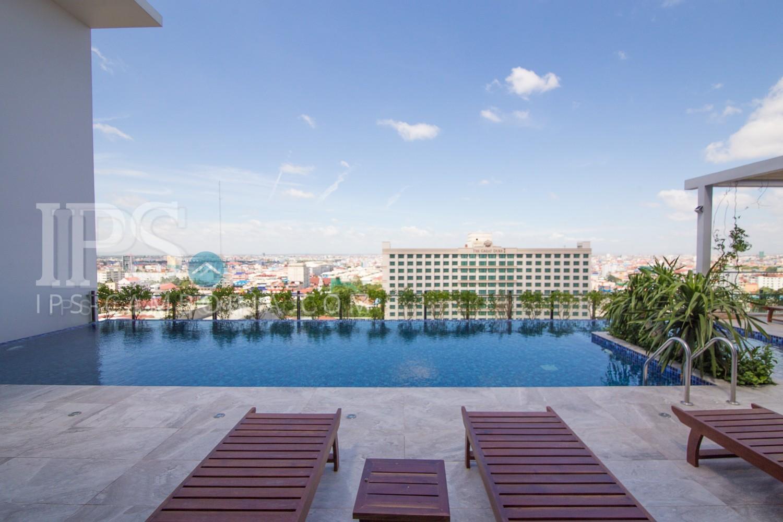 3 Bedroom Penthouse For Rent - Toul Svay Prey II, Phnom Penh