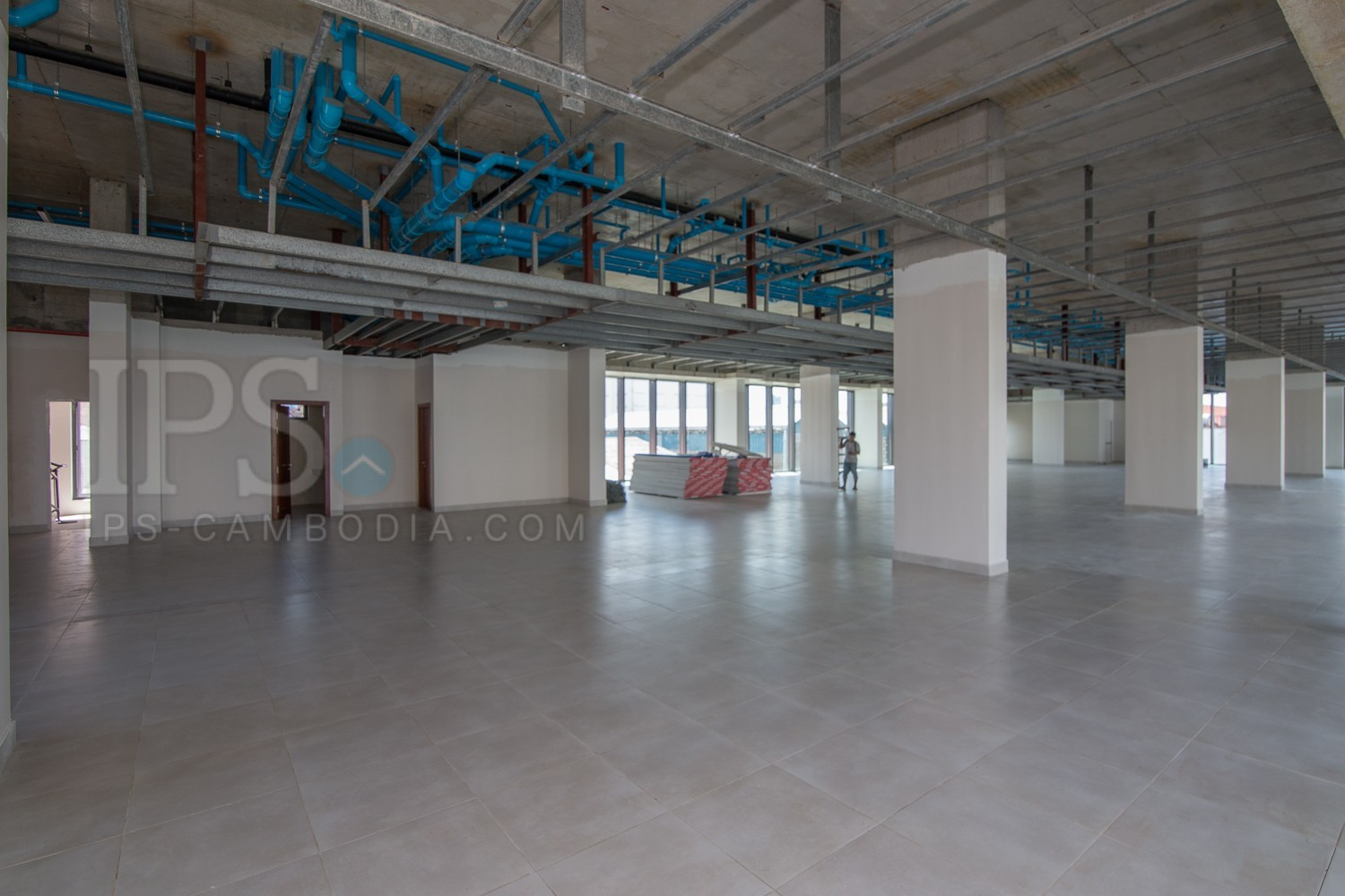 300 Sqm Office Space For Rent - Toul Svay Prey II, Phnom Penh