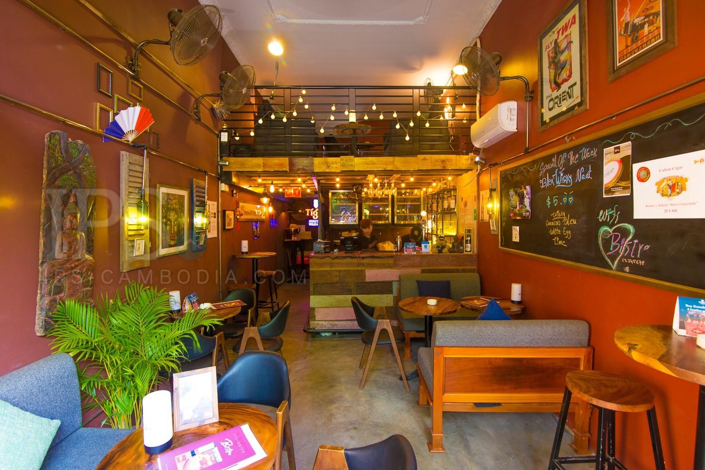 Little Bar Business For Sale - Tonle Bassac, Phnom Penh