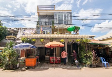 9 Unit Apartment Building  For Sale - Wat Bo, Siem Reap