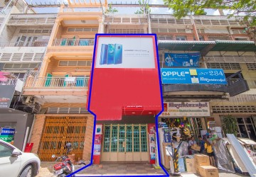 2 Bedroom Shophouse For Rent - Sangkat Olympic, Phnom Penh