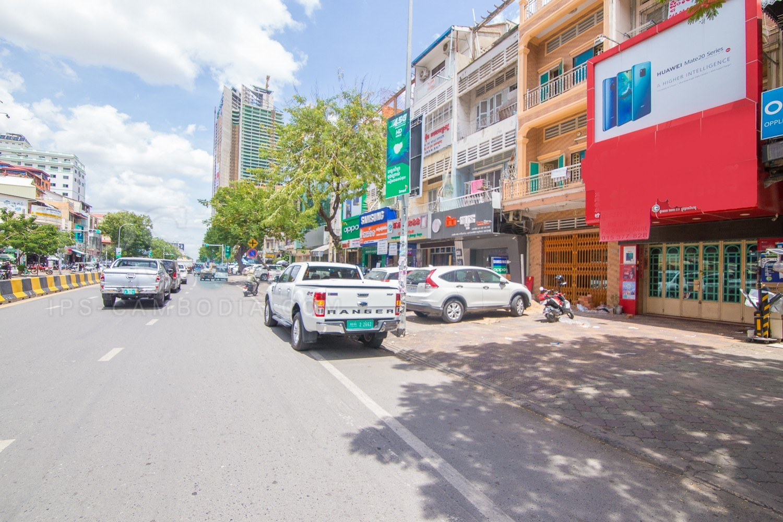 2 Bedroom Shophouse For Rent - Sangkat Olympic, Phnom Penh