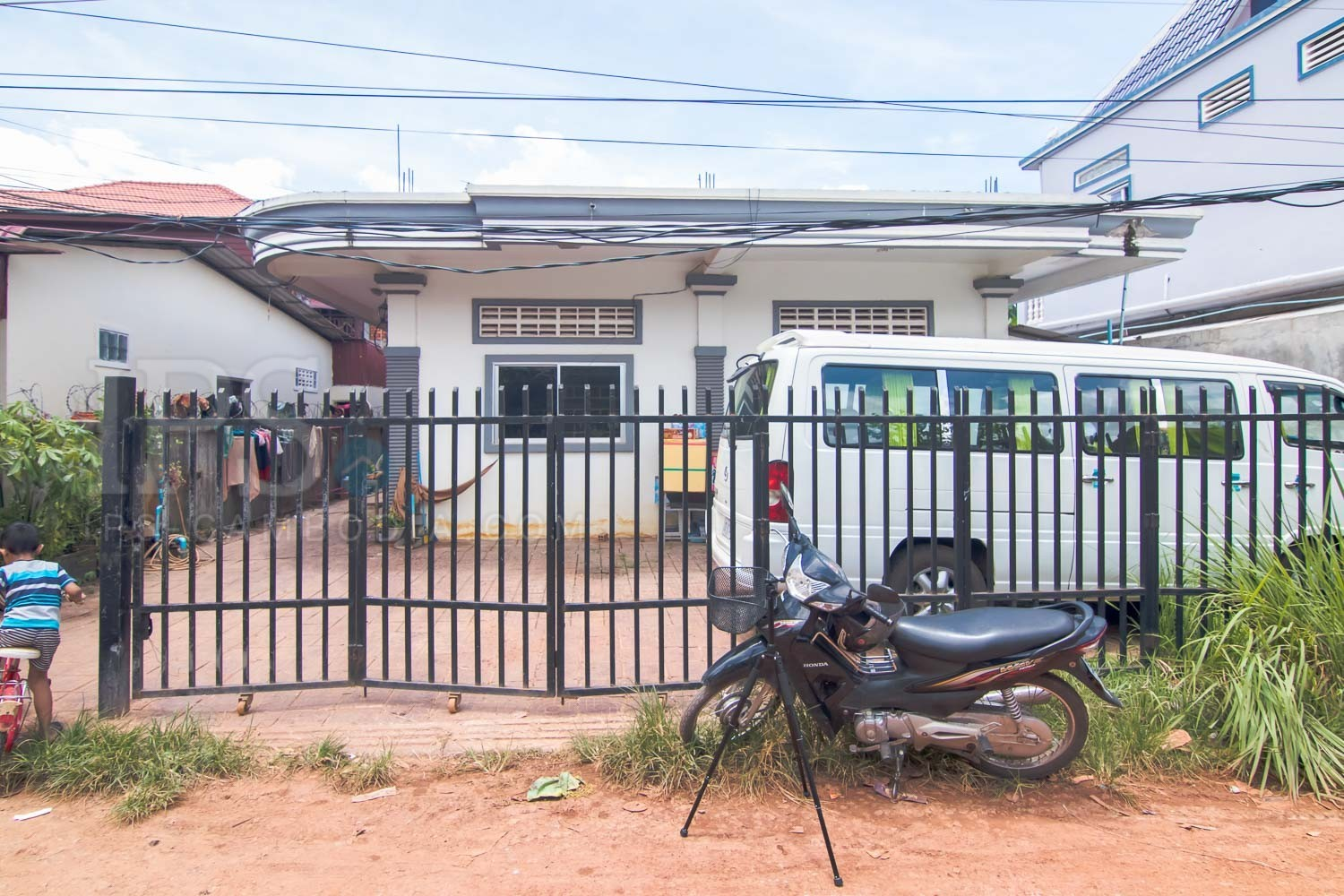 406 sqm Land and 4 Room House For Sale -  Wat Bo, Siem Reap