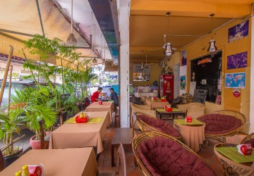 Restaurant and Hostel Business for Sale - Daun Penh, Phnom Penh