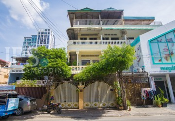9 Bedroom Shop House For Sale - BKK1, Phnom Penh