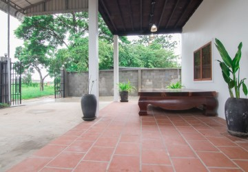 3 Bedroom House For Rent - Svay Dangkum, Siem Reap thumbnail