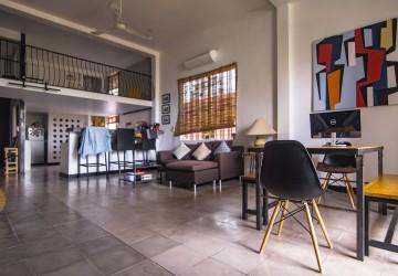 3 Bedroom Duplex Apartment for Rent - Daun Penh